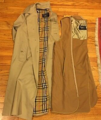 Burberry of London - Men's beige trench coat With Linear  - Size 42 R