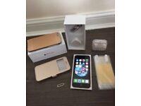 Customised iPhone 6 Rose Gold/ Black combination —-£150