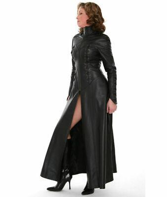 Leder Catsuit Lederoverall Long Zipper Sexy Dress Katzenanzug - Sexy Schwarze Katze Anzug