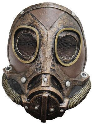 WW2 GAS MASK LATEX REPLICA M3A1 STEAMPUNK STYLE ROLE PLAY HALLOWEEN ()