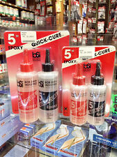 Bob Smith Industries QUICK-CURE 5 MINUTE EPOXY (BSI201 / BSI202)