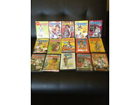 Roy Chubby Brown the ultimate collection,15 DVDs and 8 VHS tapes.