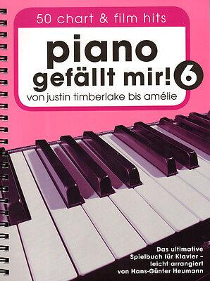 Piano gefällt mir Band 6 Hans-Günter Heumann Noten für Klavier leicht Spiralbdg.