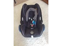 Maxi-Cosi Cabriofix Baby Car Seat- Black