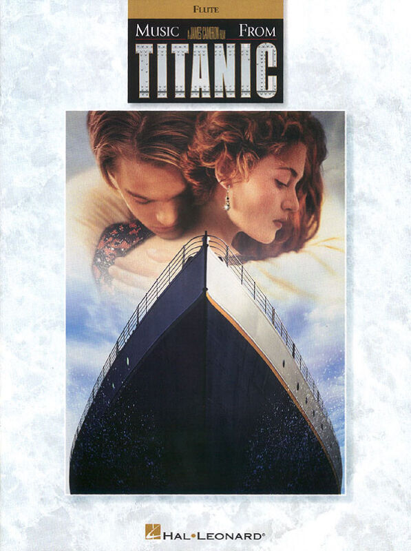 Titanic Movie for Flute Solo Early Intermediate Sheet Music Hal Leonard Book