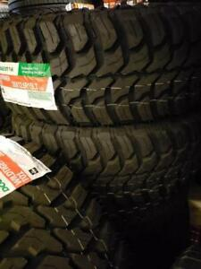 35X12.50R15 BRAND NEW DOUBLE STAR MUD TERRAIN TIRES 35 12 50 15 LT 35X12 50R15 M/T 35 INCH 10 PLY 35 12 5R15 35 1250 15