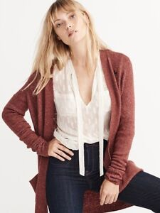 ABERCROMBIE & FITCH BOYFRIEND CARDIGAN-NEW!