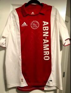 Ajax Amsterdam Adidas Jersey size Large