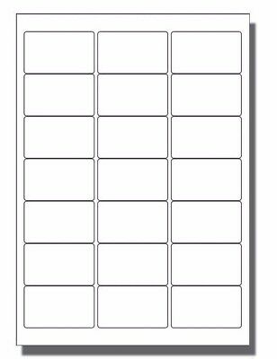 200 x 21 per sheet Blank A4 self adhesive product address postal White labels