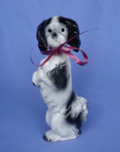 1930 JAPANESE CHIN GOEBEL GERMANY dog decanter 8""