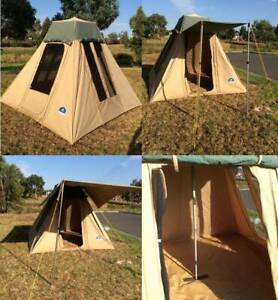 ⛺️SALE: FREEDOM MINIT TENT incl. WING AWNING ONE OWNER