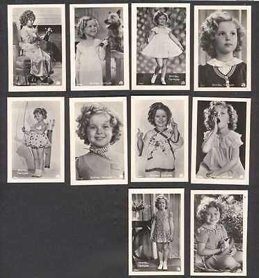 Cover w 10 Mini R Photo Shirley Temple USA Actress