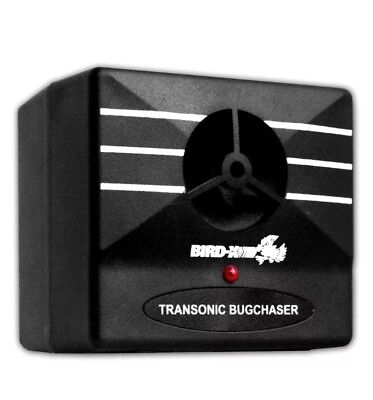 Bird-X Transonic Bugchaser Ultrasonic Pest Repeller, Covers up to 1,500 sq. ft.