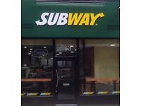 Subway Chiswick - Sandwich Artist and Supervisor required upto £8.50 per hour !