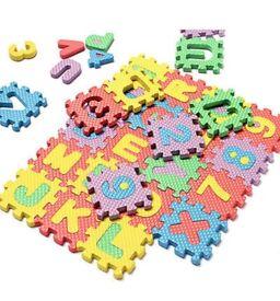 Alphabet soft foam mat