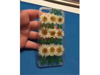 Real dried flowers and four leaf clovers I phone 5 case (can post)