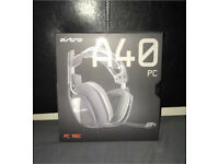 Astro A40 Headset (PRICE LOWERED)