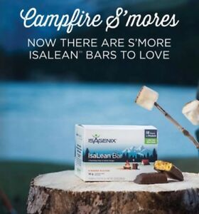 Isagenix S'mores IsaLean Meal Replacement Bars