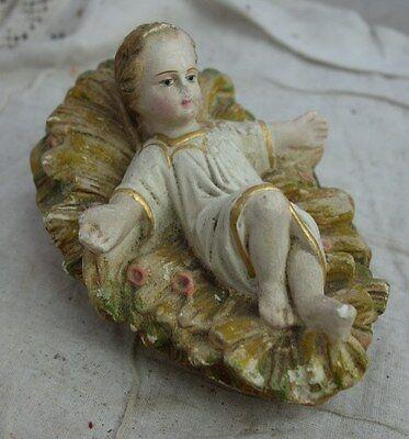 alte Krippenfigur #06 Christus Kind