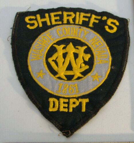 WASHOE COUNTY 1861~SHERIFF
