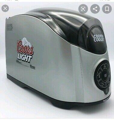 Coors light  Cooper Cooler Rapid Beverage & Wine Chiller Silver-Brand New