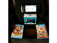 Boxed Nintendo Wii u bundle