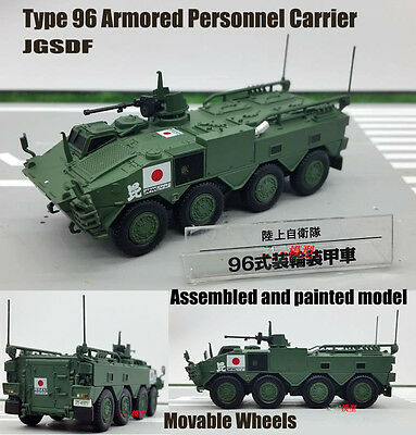 Japan JGSDF Type 96 Armored Personnel Carrier vehicle tank 1:72 diecast Model