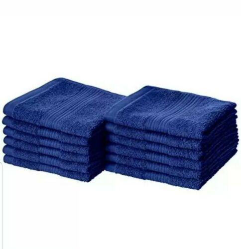 amazon basics fade resistant cotton washcloths pack