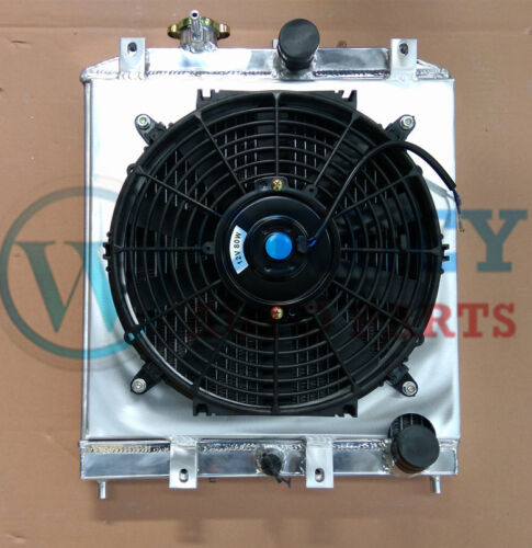 3 ROW ALUMINUM RADIATOR SHROUD for 92-2000 CIVIC MT FAN