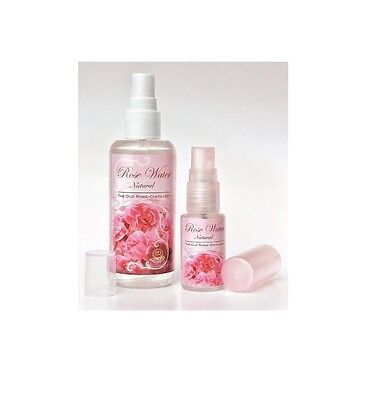 Best Care Natural Rose Water Sprays Revive, Hydrate Skin 1x 100ml & 1x 20ml (Best Natural Face Care)