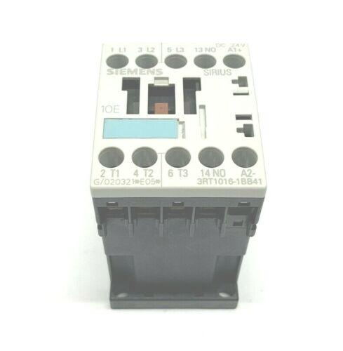 NEW SIEMENS 3RT1016-1BB41 SIRIUS CONTACTOR, 24VDC