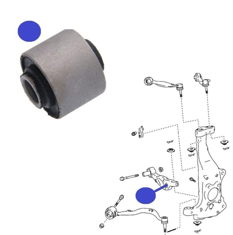 LEXUS LS460 06> FRONT LOWER BOTTOMWISHBONE TRACK CONTROL FRONT ARM INNER BUSH x1