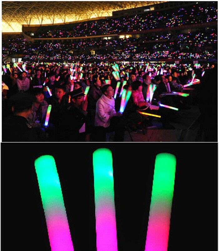 12 500pk Wholesale Glowsticks Colorful Led Lights Up Foam