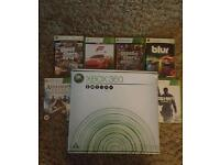 Xbox 360 with Controller & Games