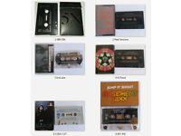 Various Cassette Singles (see pics & list) collection or post