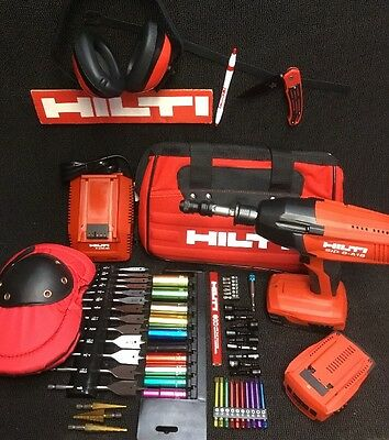 Hilti Sid 8-a18 Cordless Driver New Free Bits Extras Complete Setfast Ship