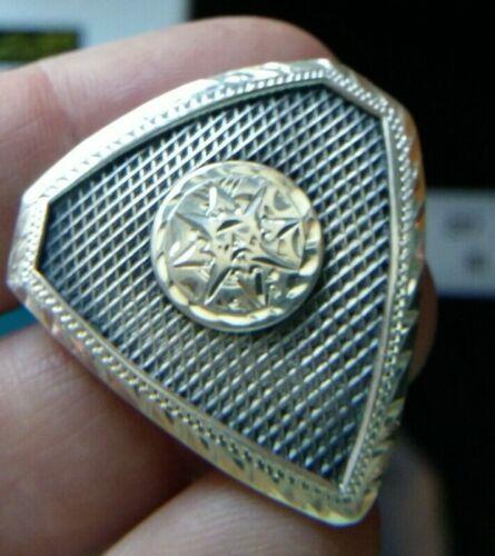 VINTAGE Sterling Silver SCARF Holder Bolo Holder ?  #1942