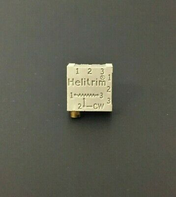 Beckman 68wr20k 20k Ohm .5w Multi-turn Cermet Trimmer Potentiometer