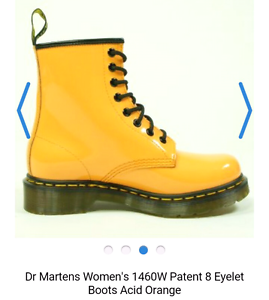 Yellow dr martins size 6.5 Rochedale South Brisbane South East Preview