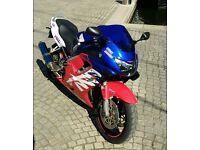 #HONDA CBR600FX - BLUE/RED/WHITE - 19K 2000 - GREAT CONDITION - £1900 #CBR