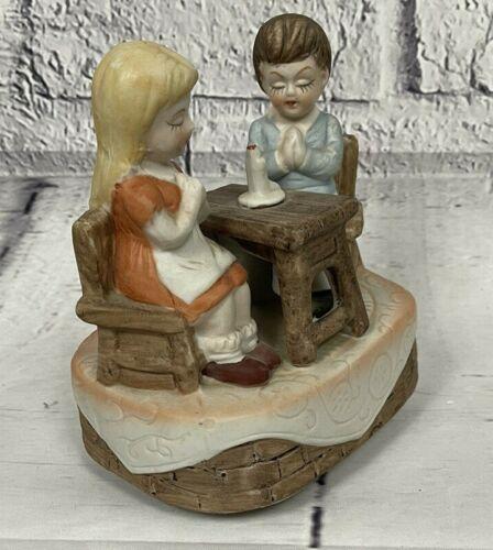 VTG Gailstyn-Sutton Music Box Boy Girl Candle Twinkle Twinkle Little Star P.A.