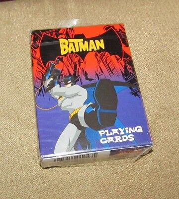 Batman The Animated Series Playing Cards Bicycle Deck DC Comics Cartoon Network