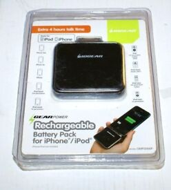 Joblot of 44 Rechargeable portable battery pack for-iphone-ipod-nano classic. Carboot or Market