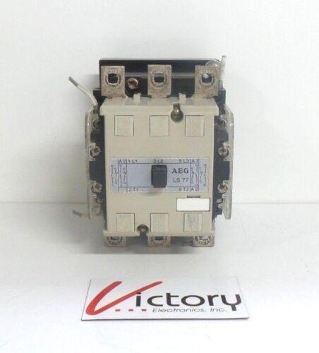 Used AEG Contactor LS 77 E-Nr 910-337 24v 50/60Hz Coil