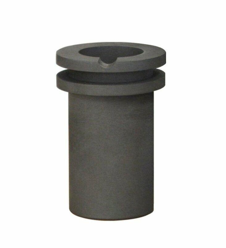 TableTop Crucible 60 oz QuikMelt Furnace Graphite Crucible Gold Silver Melting