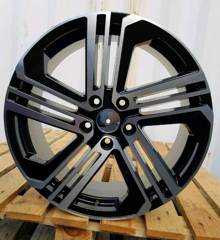 NEW 18'' VW GOLF R400 ALLOY WHEELS X4 BOXED 5X112 GOLF MK5 MK6 MK7 SCIROCCO PASSAT CADDY GTD AUDI