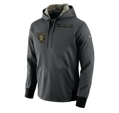 Nike Oakland Raiders 2016 NFL Salute to Service Hoodie (XL) - BRAND (Oakland Raiders Salute To Service Hoodie Xl)