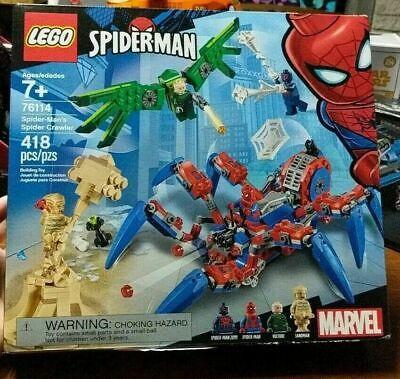 LEGO MARVEL SPIDER-MAN'S SPIDER CRAWLER SET 76114 418 PCS. BRAND NEW SEALED