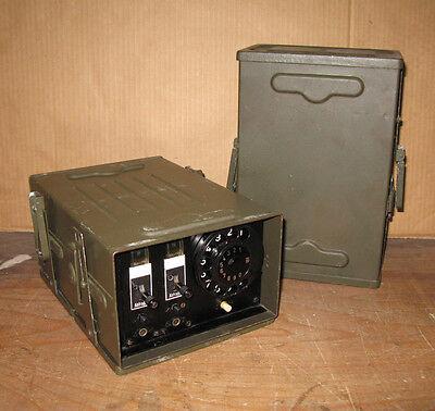 Amtzusatz 2 Leitungen Nummernschalter zu Vermittlung 10A Bundeswehr Feldtelefon online kaufen