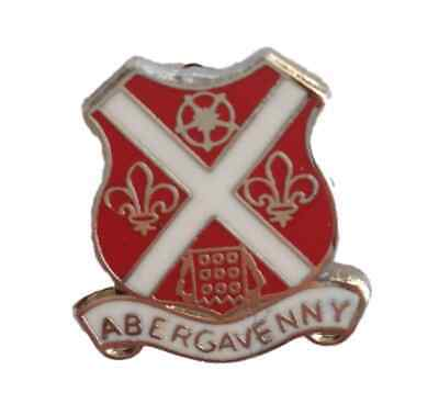 Abergavenny Wales Quality Enamel Lapel Pin Badge